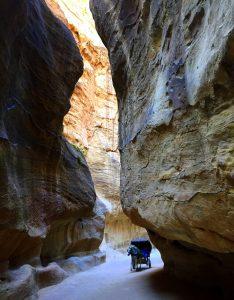 Petra yürüyüş rotası