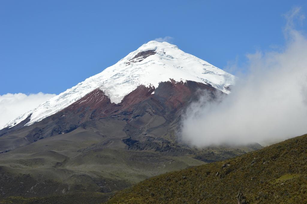 Dünyanın en yüksek aktif volkanı Cotopaxi