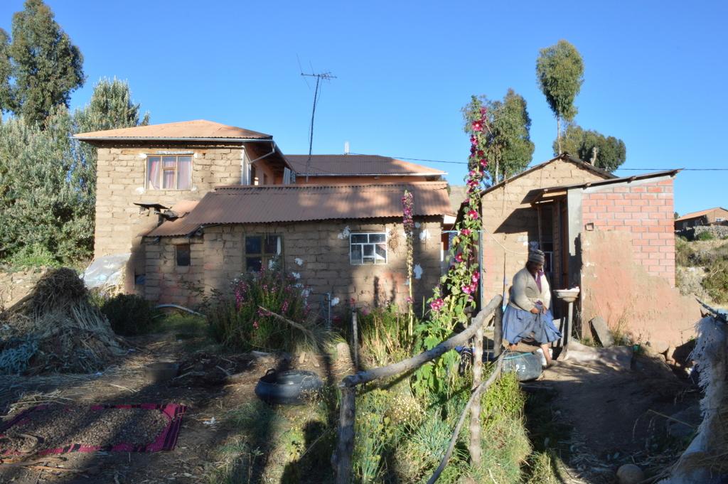Amantani' de kaldığım peru, Titicaca gölü