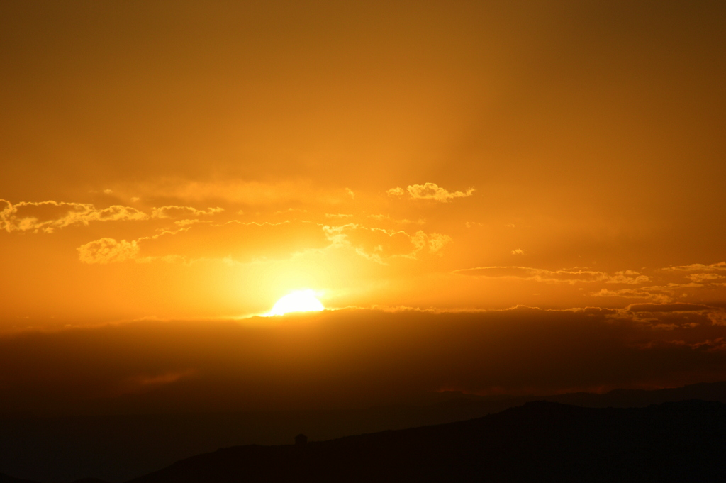 Günbatımı, gün doğuşu Bolivya