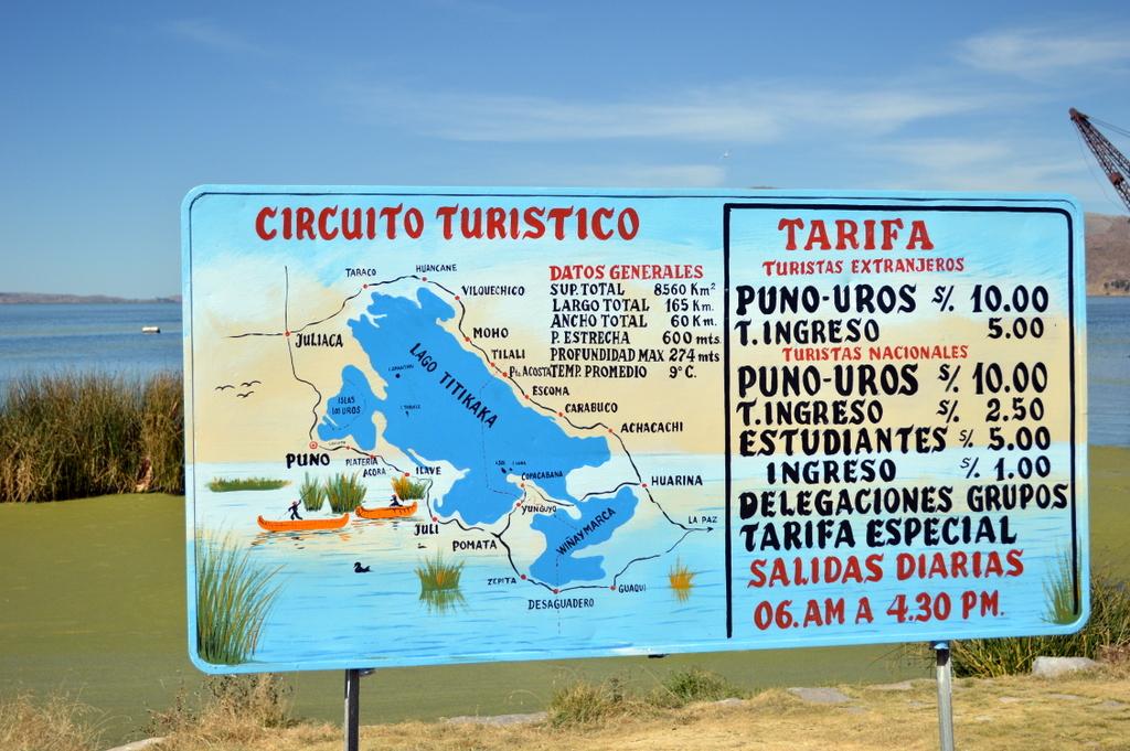 Titcaca gölü, Peru