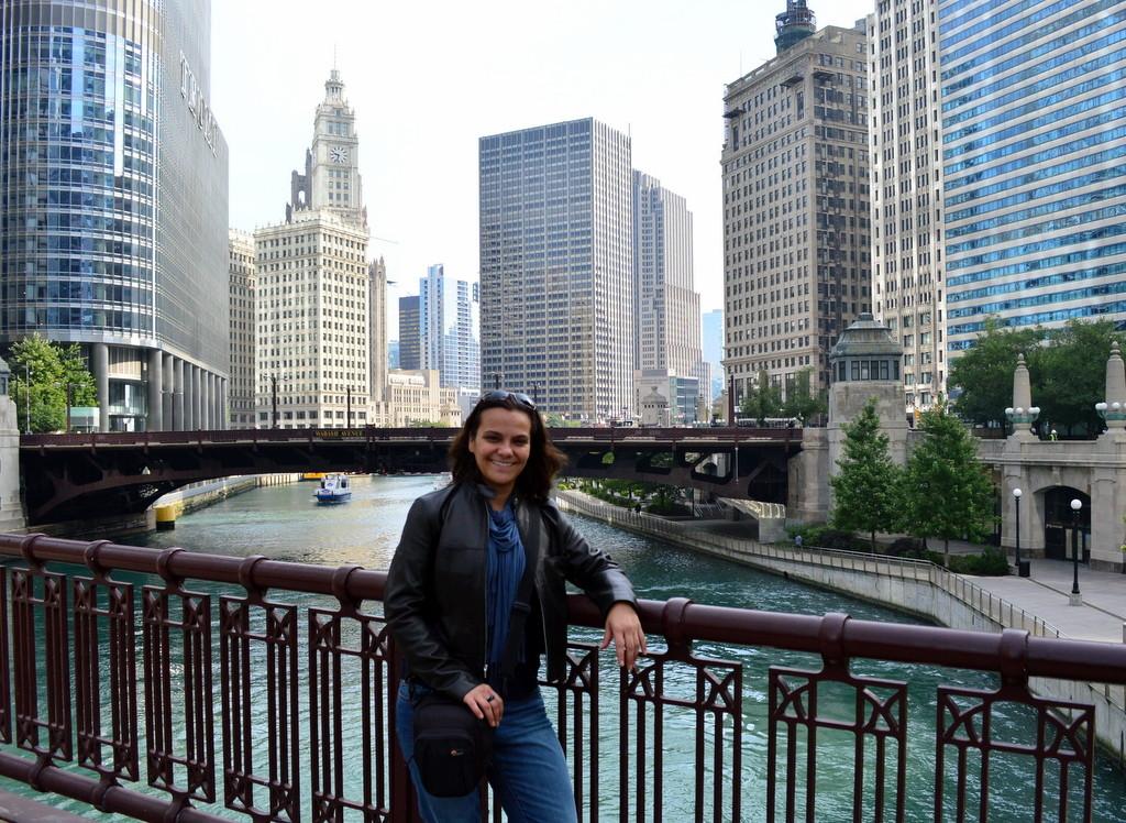Gezgin olmak hep yolda olmak demek, Chicago