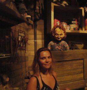 Chucky korku filminden kareler