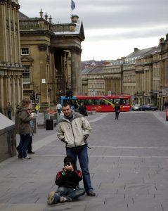 Newcastle sokakları, İngiltere