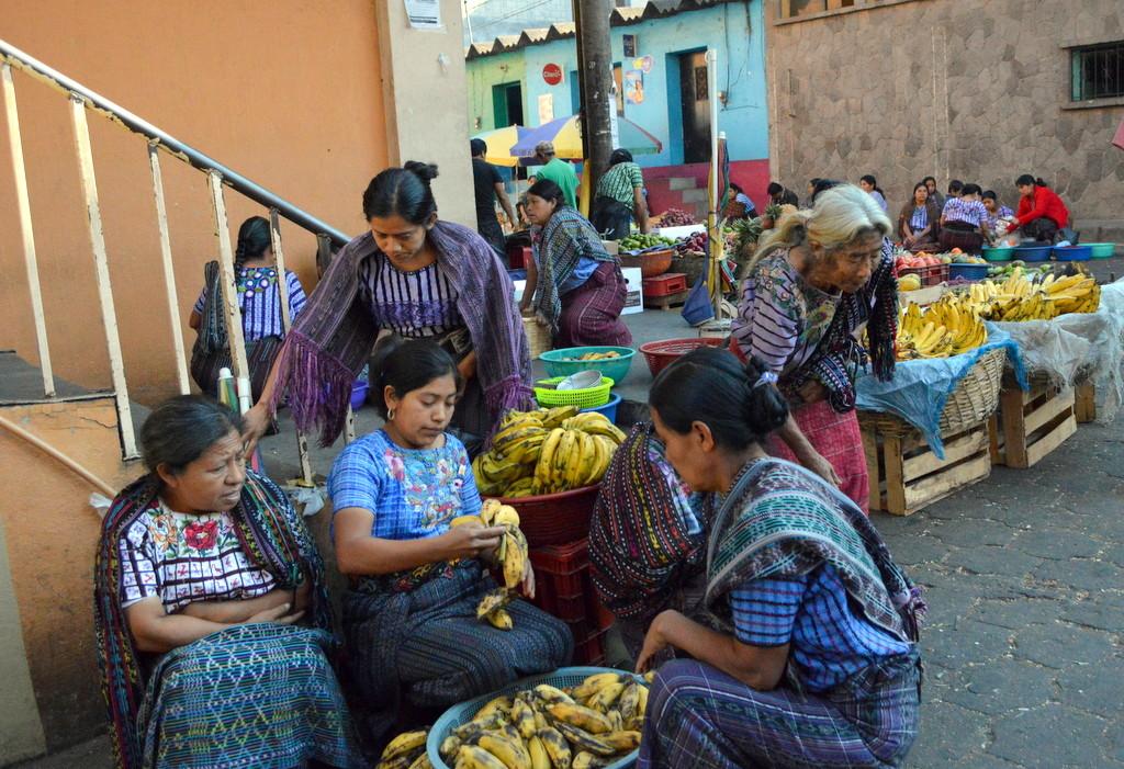 Guatemala gezi rotası