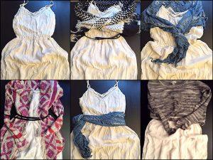 tatil için kıyafet seçimi