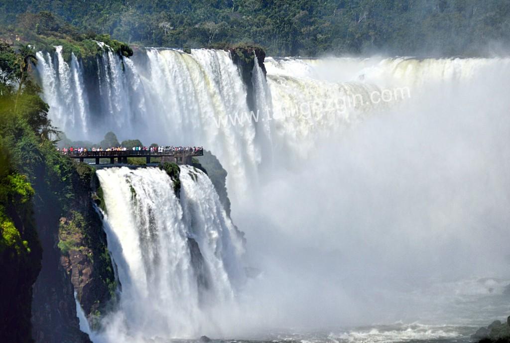Iguazu şelalerine nasıl gidilir?