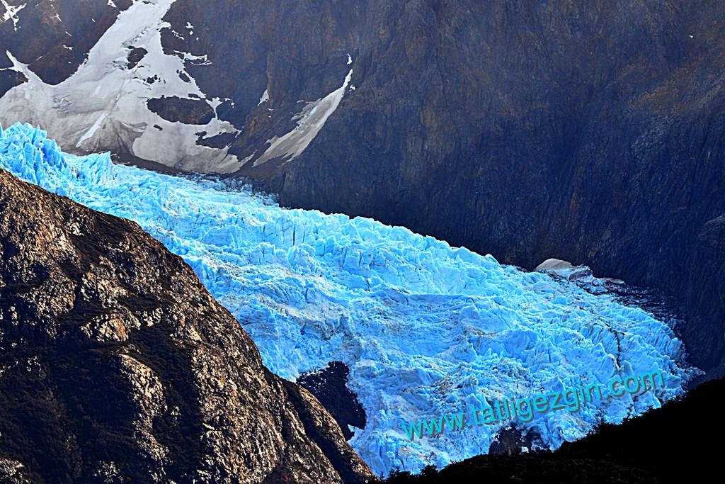 Patagonya buzullar